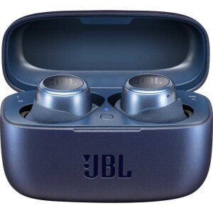 Casti Bluetooth JBL Live 300 TWS True Wireless BT 5.0 Albastru