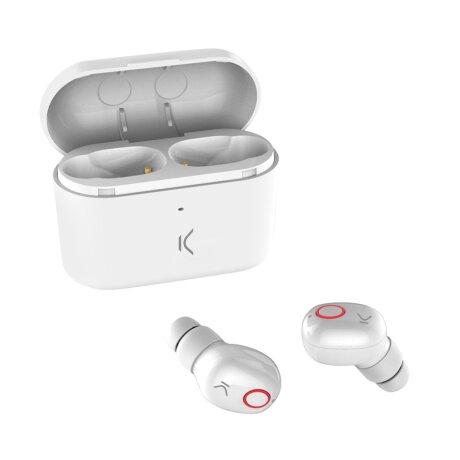 Casti Bluetooth Ksix Free Pods True Wireless BT 5.0 Alb