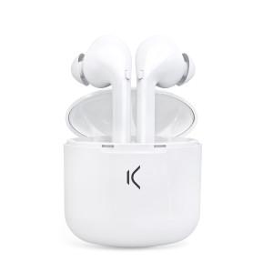 Casti Bluetooth Ksix True Pods BXATWS02 True Wireless BT 5.0 Alb