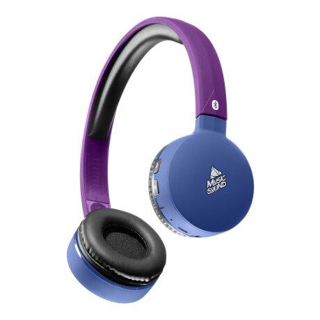 Casti Bluetooth Stereo Cellularline Microfon Albastru