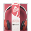 Casti Bluetooth Stereo Cellularline Microfon Rosu