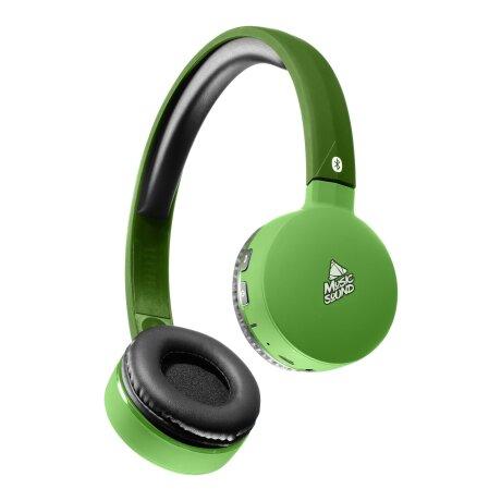 Casti Bluetooth Stereo Cellularline Microfon Verde