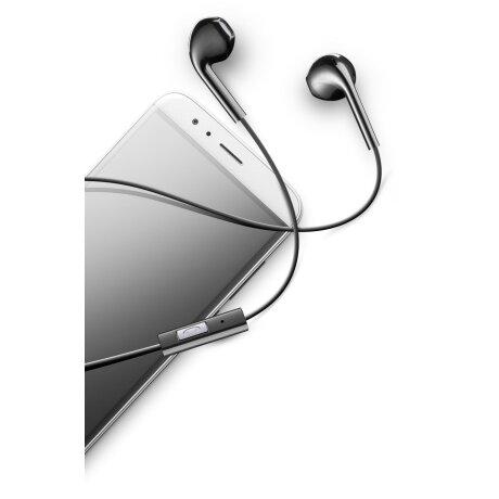 Casti cu Fir Cellularline AUCAPSULEK Microfon Jack 3.5mm Negru