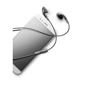 Casti cu Fir Cellularline AUCLASSICK Microfon Jack 3.5mm Negru