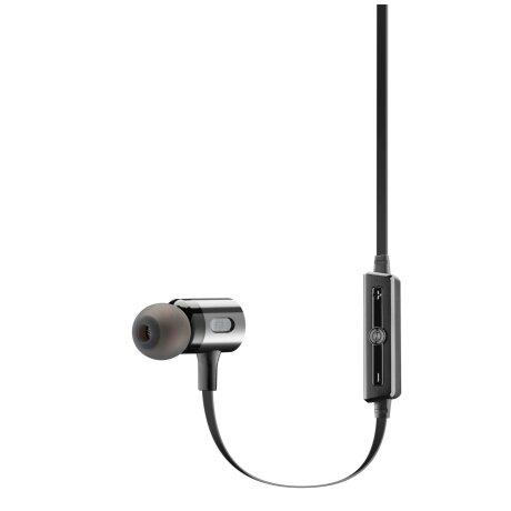 Casti cu Fir Cellularline Microfon Negru