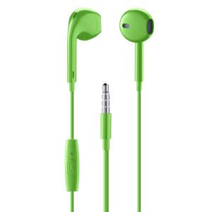 Casti cu Fir Cellularline Capsule Microfon Jack 3.5mm Verde