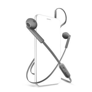 Casti cu Fir Cellularline MANTISDG Microfon Jack 3.5mm Gri