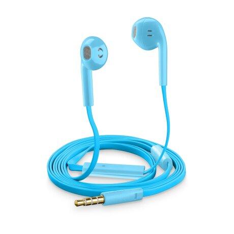 Casti cu Fir Cellularline  SLUGSMARTB Microfon Jack 3.5mm Albastru