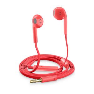 Casti cu Fir Cellularline SLUGSMARTP Microfon Jack 3.5mm Rosu
