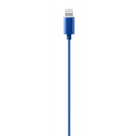 Casti cu Fir Cellularline Swan Microfon cu Input Lightning, Albastru
