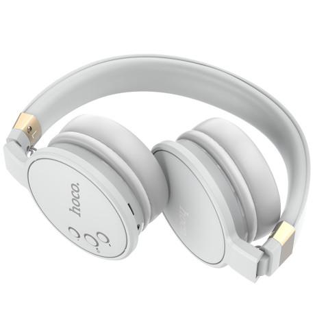 Casti Wireless Hoco W26 Enjoyment Stereo BT 5.0 Gri