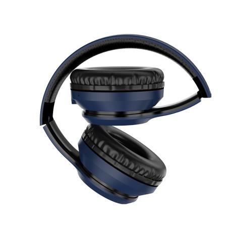 Casti Wireless Hoco W28 Journey BT 5.0 Albastru