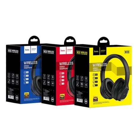 Casti Wireless Hoco W28 Journey BT 5.0 Rosu