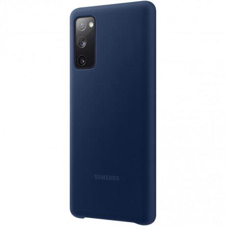 Husa Samsung Silicone Cover pentru Samsung Galaxy S20 FE Navy