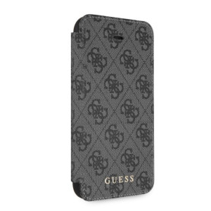 Husa Guess Charms Book 4G pentru iPhone 7/8/SE2 Grey