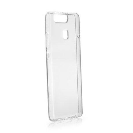 Husa Silicon Slim pentru Huawei Y5/Y6 2017 Transparent