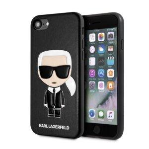 Husa Cover Karl Lagerfeld Full Body Iconic pentru iPhone 7/8/SE 2 Black