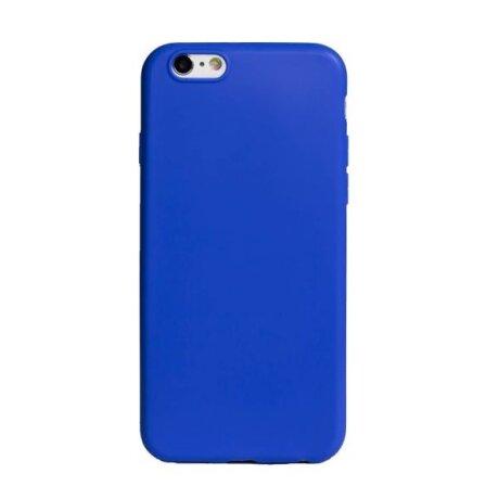 Husa Silicon Slim pentru iPhone 6/6S Albastru Mat