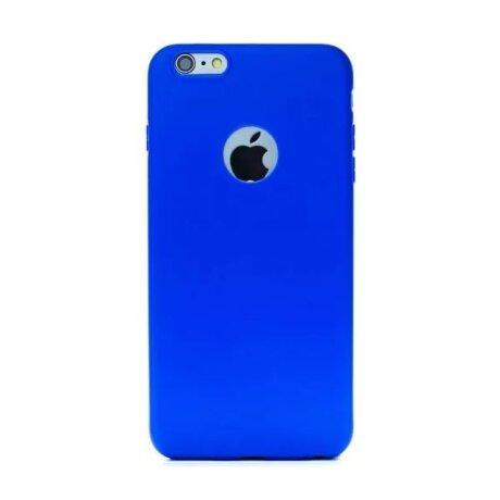 Husa Silicon iPhone 6 Plus  Albastru Mat