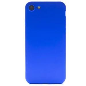Husa Silicon Slim pentru iPhone 7/8/SE 2 Albastru Mat