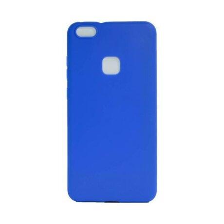 Husa Silicon Slim Huawei P10 Lite Albastru mat