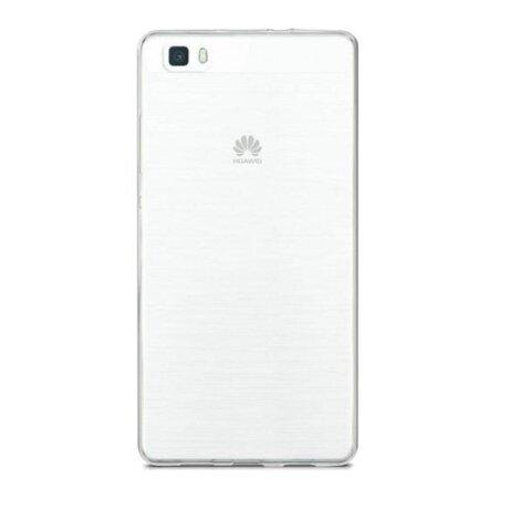 Husa Silicon Slim pentru Huawei P8 Lite Transparent