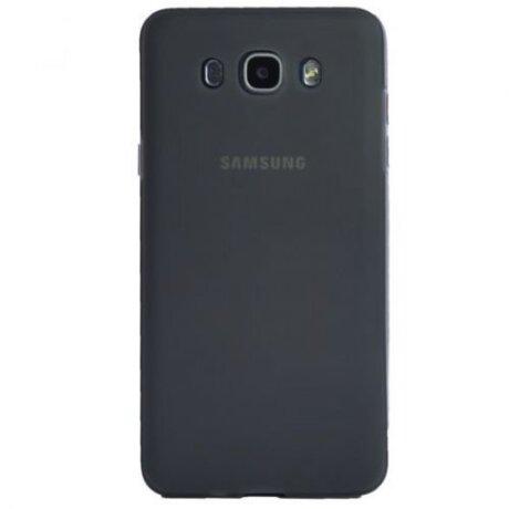 Husa Silicon Slim pentru Samsung Galaxy J7 2016 Fumuriu