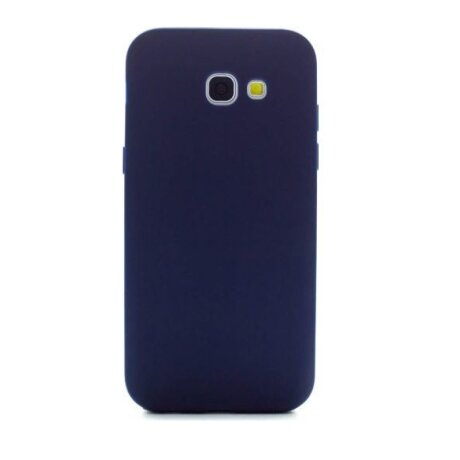 Husa Silicon Slim Samsung Galaxy A5 2017 Albastru Mat