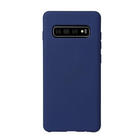 Husa silicon slim Samsung Galaxy S8 Plus Albastru Mat