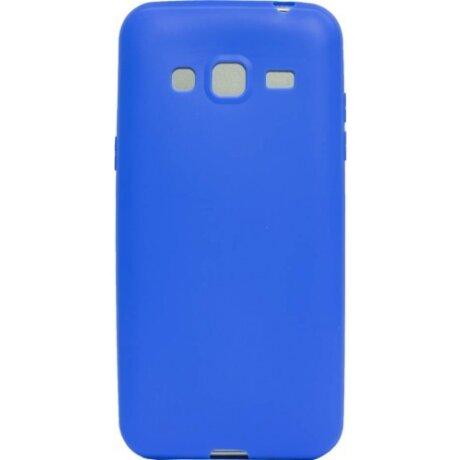 Husa Silicon Slim Samsung Galaxy J3 2016 Albastru Mat
