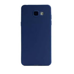 Husa Silicon Slim Samsung Galaxy A5 2016 Albastru Mat