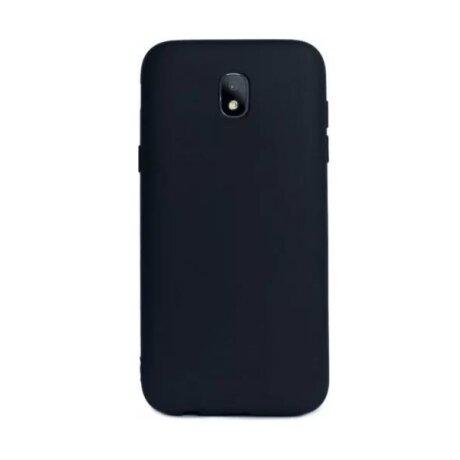 Husa Silicon Slim Samsung Galaxy J7 2017 Negru Mat