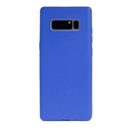 Husa silicon slim Samsung Galaxy Note 8 Albastru Mat