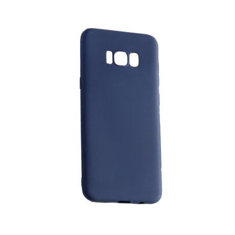 Husa silicon slim Samsung Galaxy S8 Albastru Mat