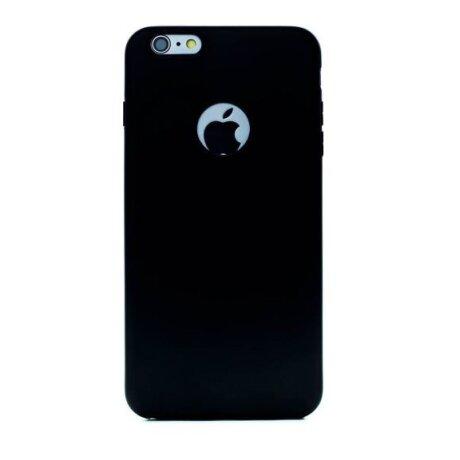 Husa Silicon Slim pentru iPhone 6 Plus Negru mat