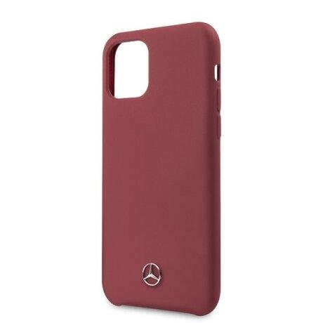 Husa Cover Mercedes Silicone pentru iPhone 11 Pro Red