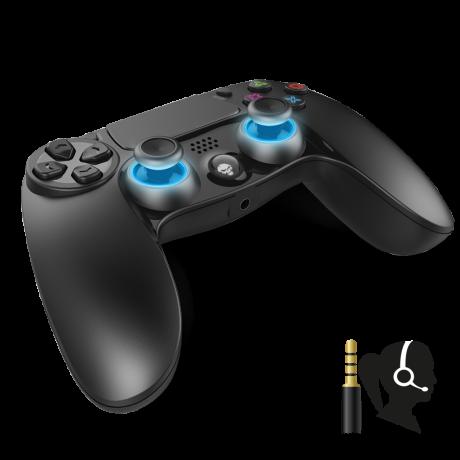 Consola Bluetooth Spirit of Gamer PGP pentru PS4 cu 16 Butoane Negru