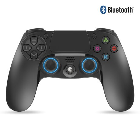Controller Gaming Bluetooth Spirit of Gamer PGP pentru PS4 cu 16 Butoane Negru