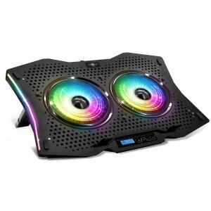 Cooler Laptop Gaming cu Led AirBlade Spirit of Gamer 17 Inch Multicolor