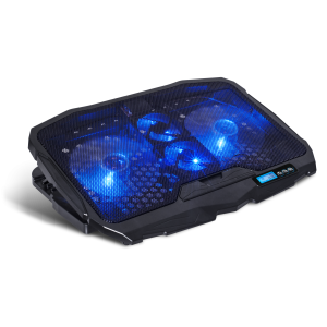 Cooler Laptop Gaming AirBlade Spirit of Gamer cu Led 17 Inch Albastru