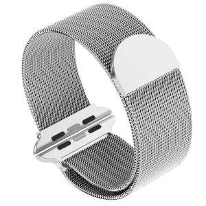 Curea Tactical Magnetic Stainless Steel pentru Apple IWatch 1/2/3/4/5/6/SE 42/44mm Argintiu