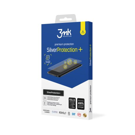 Folie de Protectie 3MK Antimicrobiana Silver Protection + pentru Huawei Y7 2019