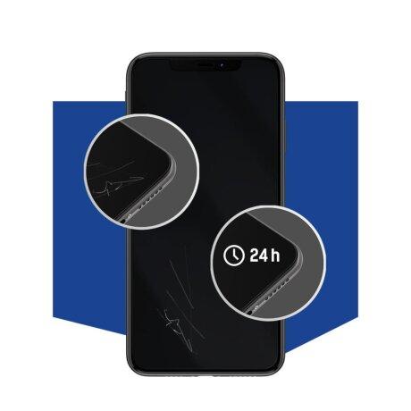 Folie de Protectie 3MK Antimicrobiana Silver Protection + pentru iPhone SE 2