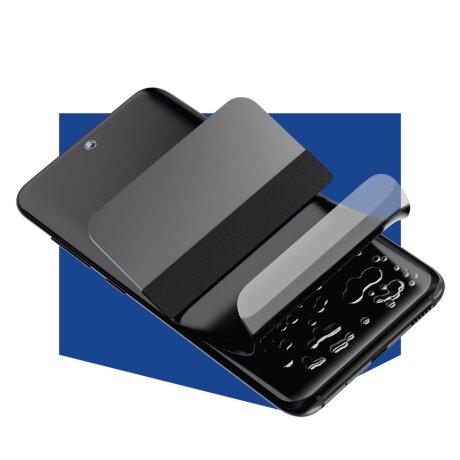 Folie de Protectie 3MK Antimicrobiana Silver Protection + pentru iPhone XS Max/11 Pro Max