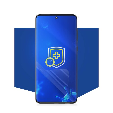 Folie de Protectie 3MK Antimicrobiana Silver Protection + pentru Xiaomi Mi Note 10