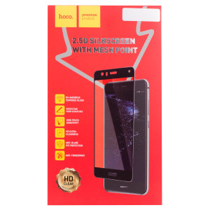 Folie sticla 2.5D Huawei P10 Lite, Hoco Mesh Point Aurie