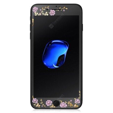 Folie sticla 2.5D iPhone 6, Kavaro Neagra