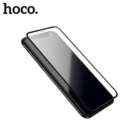 Folie sticla 2.5D iPhone 7/8/SE 2 /8, Hoco Shatter-Proof Neagra
