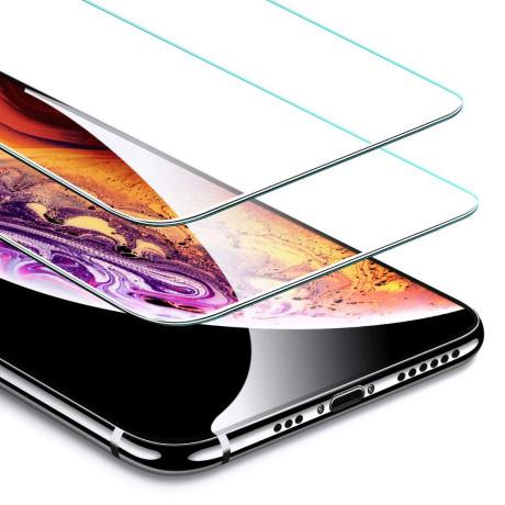Folie Sticla 2.5D iPhone XS Max Neagra Vetter