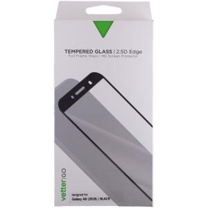 Folie Sticla 2.5D Samsung Galaxy A6 2018, Neagra Vetter